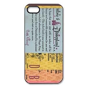 Customize Disneyland Ticket TPU Case for Apple IPhone 5 5s