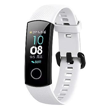 Bainuojia pour Huawei Honor 4 Ceinture - Ceinture de Sport réglable en Silicone avec Bracelet de