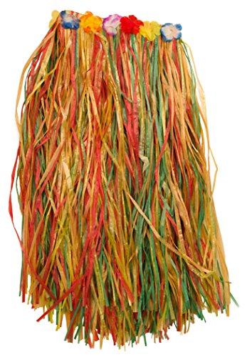 [Loftus Adult Colorful Hawaiian Hula Girl Adult Skirt, 24