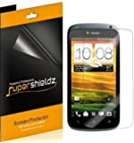 [6-Pack] SUPERSHIELDZ- High Definition Clear Screen Protector Shield For HTC One S (T-Mobile) + Lifetime Replacements Warranty [6 Pack] - Retail Packaging