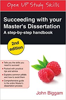 Master dissertationswriting a masters dissertation guide