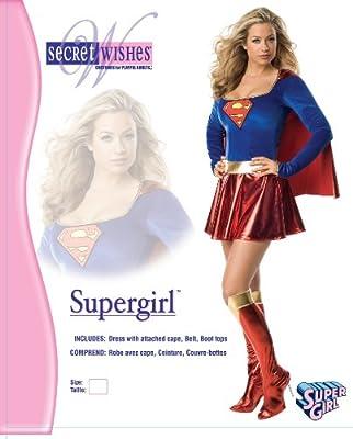 DC Comics Secret Wishes Supergirl Costume