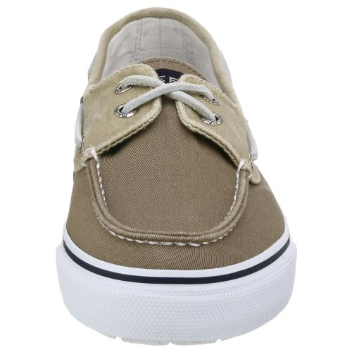Sperry Top-sider Uomo Bahama A Due Occhi Con Scarpa Barca Kaki Oyster
