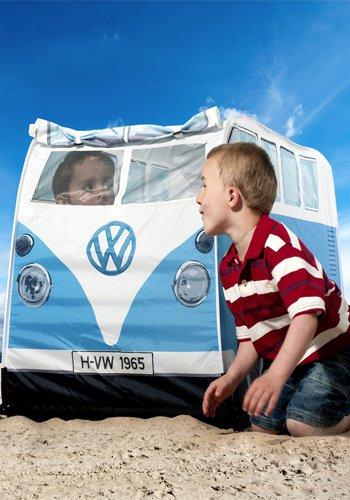 VW T1 Bus Zelt in blau - Volkswagen Spielzelt für Kinder