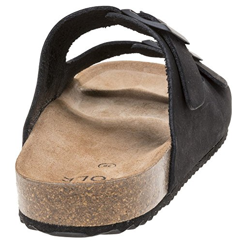 Sandalo Nero Donna Nora Nero Sole wHUzxq