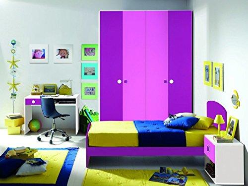 Kinderzimmer A Zusammensetzung Fuchsia und Pink