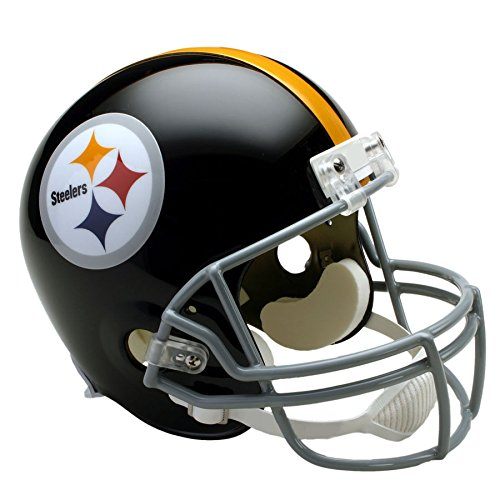 Throwback Helmet Pittsburgh Steelers (Pittsburgh Steelers 63-76 Officially Licensed Replica Throwback Football Helmet)