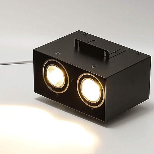 BIN Aluminio Cuadrado Techo lámpara Especial LED lámpara Downlight ...