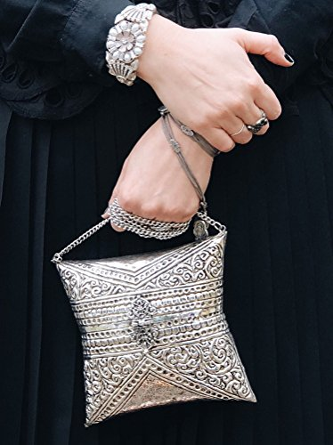 Clutch Amelia B Cuckoo Metal Evening n5gIOxq0S