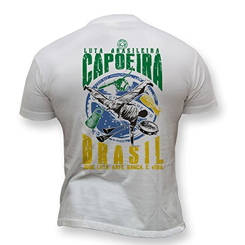 Dirty Ray Kampfsport MMA Capoeira Brazilian Kampf Herren Kurzarm T-Shirt K1