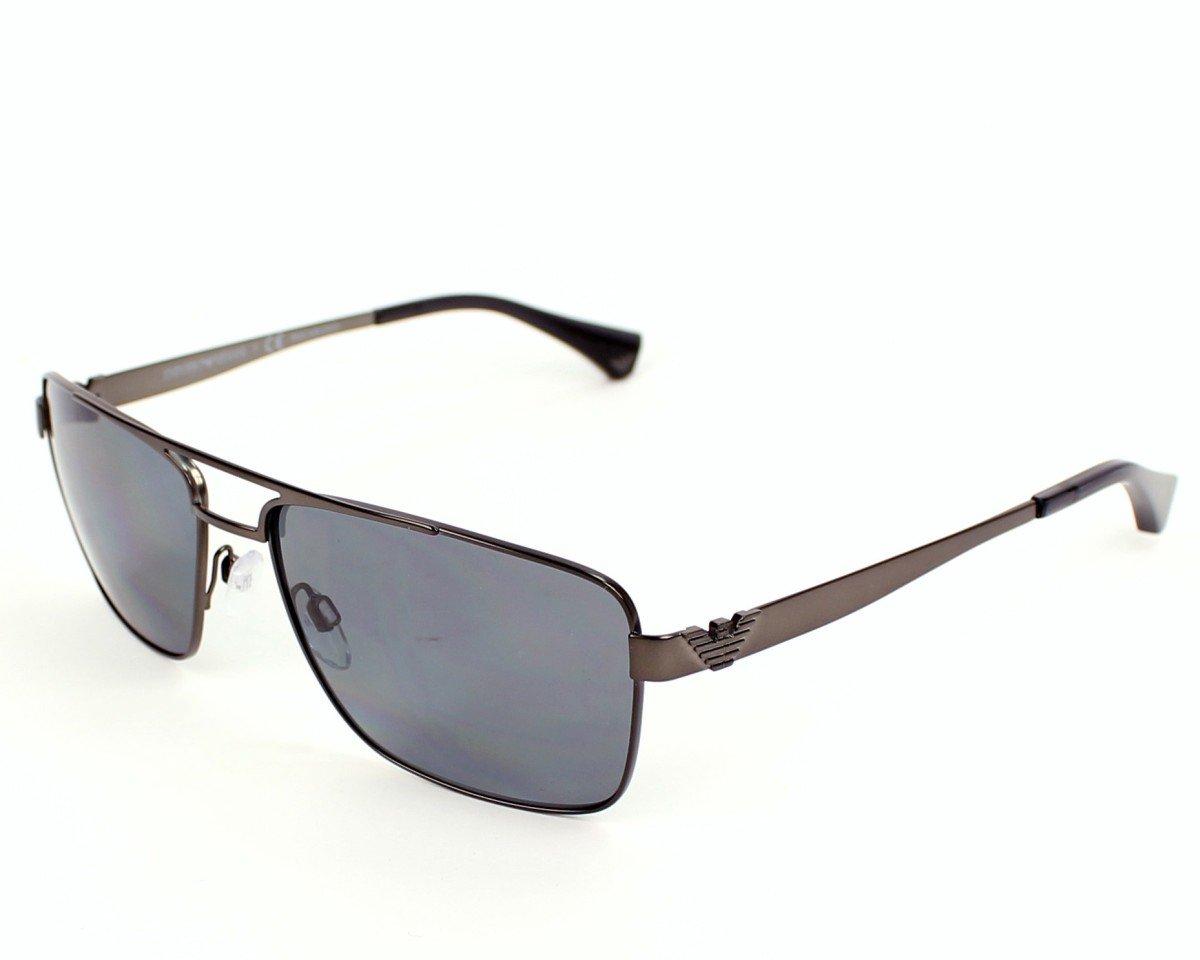 Emporio Armani EA 2019 Men's Sunglasses Matte Gunmetal 58