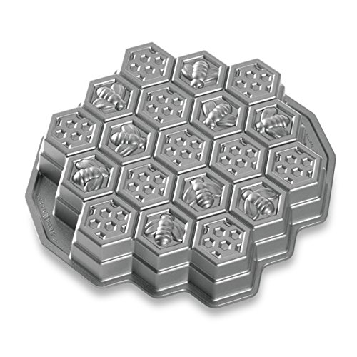 Nordic Ware Honeycomb Pull-Apart Dessert Pan (Nordic Ware Cakelet Pan compare prices)