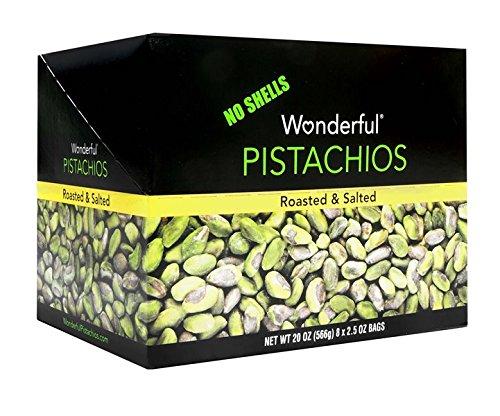 Product Of Wonderful , Shelled Pistachio, Count 8 (2.5 oz ) - Nut & Dry Fruit / Grab Varieties & (Wonderful Shelled Pistachios)