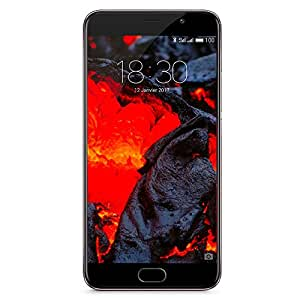 "Meizu Pro 6 Plus - Smartphone libre de 5.7"" (4G, cámara de 12 MP, memoria interna de 64 GB, 4 GB de RAM, Android 6.0) color gris oscuro"