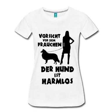 IchLiebeHunde.com Collie: Vorsicht vor dem Frauchen - der Hund ist Harmlos