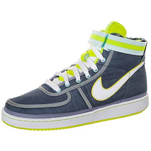 Nike Mens Vandal High Supreme (VNTG) Basketball Slate/Volt 325317-402