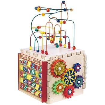Amazon Com Vtech Alphabet Activity Cube Toys Amp Games