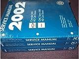 2002 Chevrolet GMC SIERRA TRUCK 3500 HD CHASSIS Service Shop Repair Manual SET (3 volume set)