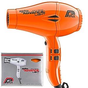 Parlux Advance Light - Secador de pelo ionico, Naranja
