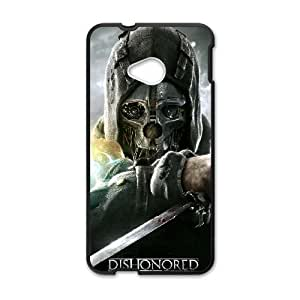Dishonored HTC One M7 Cell Phone Case Black custom made pgy007-9013110
