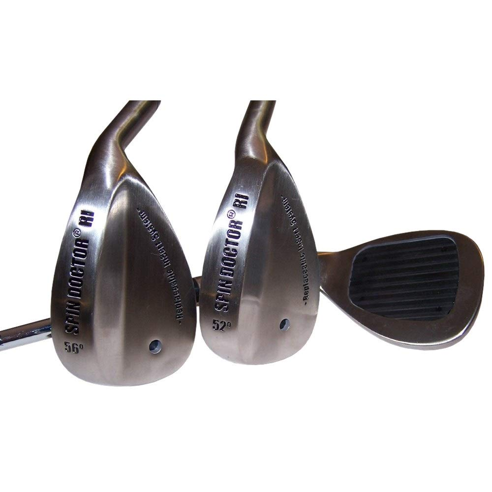 New Spin Doctor RI 52/56 Degree Pitching/Sand Golf Wedges - Steel - Right by Spin Doctor