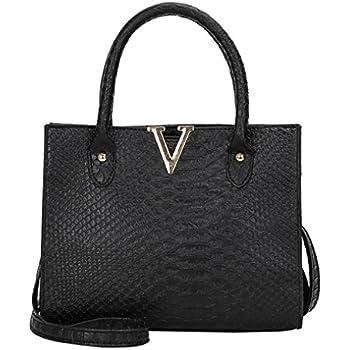 Women PU Shoulder Bag Chains Solid Messenger Bag Handbag Rivet Tote Nice Gift UK