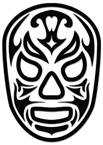 Amazon.com: Lucha Libre Luchador Santo Fuego Mask Vinyl Decal ...