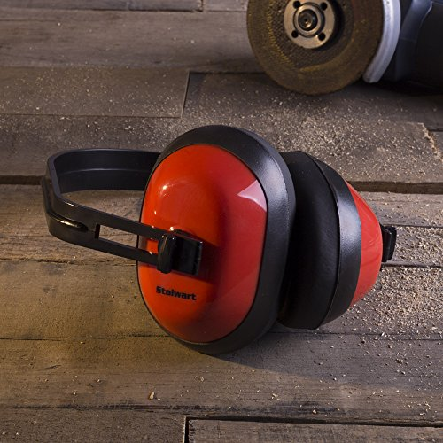 Safety Ear Muffs for Hearing Protection, Adjustable With 26 DB Noise Reduction By Stalwart (For Shooting Ranges, Mowing, Hunting and Construction) by Stalwart (Image #4)