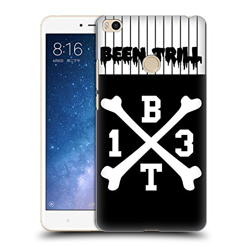 Crossbones Hc Jersey (Official Been Trill Crossbone Jersey Hard Back Case for Xiaomi Mi Max 2)