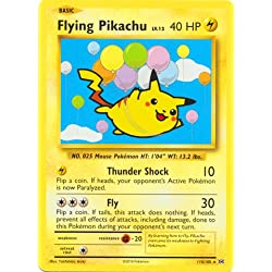 Pokemon - Flying Pikachu (110/108) - XY Evolutions