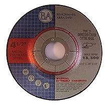 "4.5""x.040""x7/8"" Depressed Center Thin CutOff Wheel - 50 Pack"