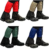 Trendbox 1 Set (4 Colors) Unisex Waterproof Snowproof Snow Legging Leg Cover Wraps Gaiters For Climbing Hunting Hiking