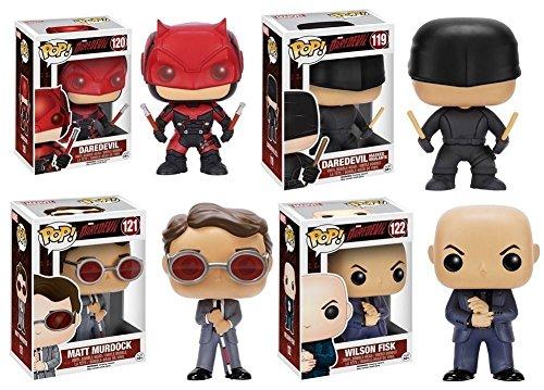 Pop! Marvel: Daredevil TV Vinyl Figures Set of 4