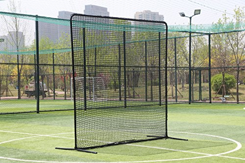 - Ascent Sports Baseball 10x10 Field Screen - Baseball Backstop Screen - Hitting and Practice Screen