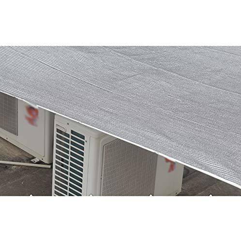 jard/ín ventana superior exterior ventana de seguridad red balc/ón red protector solar alf/éizar aislamiento t/érmico Zyb Papel de aluminio Tama/ño : 3m/×5m sombrilla habitaci/ón para el sol