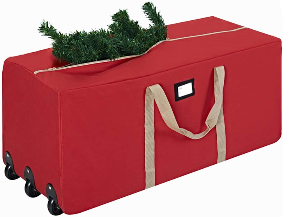 ProPik Xmas Rolling Tree Storage Bag, Fits Up to 9 ft