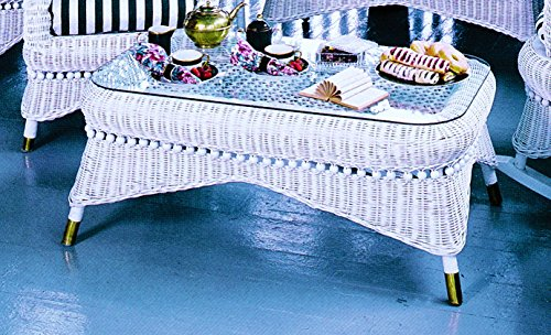 Spice Islands Country Coffee Table, White