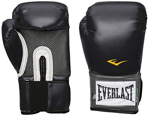 Everlast Pro Style Training Gloves (Black, 14 oz.)