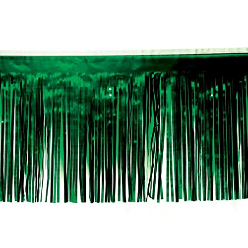 Dark Green Vinyl Fringe - 15