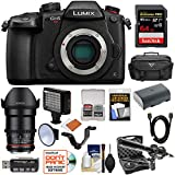 Panasonic Lumix DC-GH5S Wi-Fi C4K Digital Camera Body with 35mm T/1.5 CINE Lens + 64GB Card + Battery + Case + LED Light & Flash + Mic Kit Review