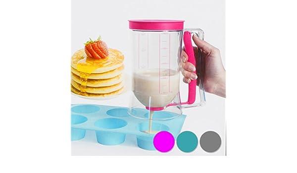 DRULINE 900 ml Pastel de Masa dispensador de Masa dispensador Dosificador Vaso Medidor para Masa: Amazon.es: Juguetes y juegos