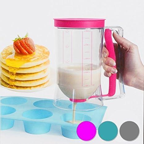 900 ml Pastel de Masa dispensador de masa dispensador Dosificador Vaso Medidor para masa: Amazon.es: Juguetes y juegos