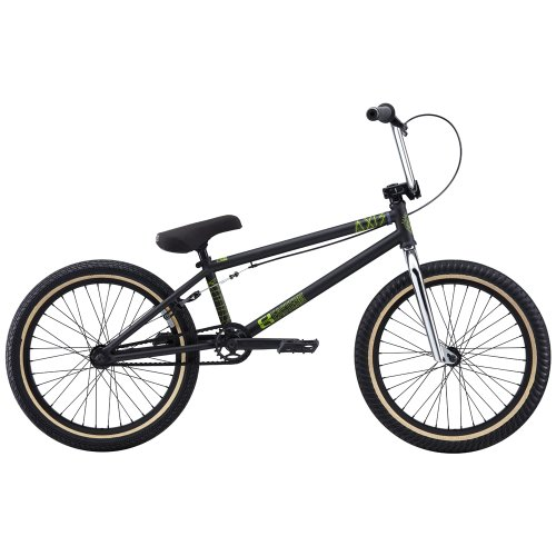 Eastern Bikes Axis 2013 Edition BMX Bike (Matte Black/Black Rim, 20-Inch)