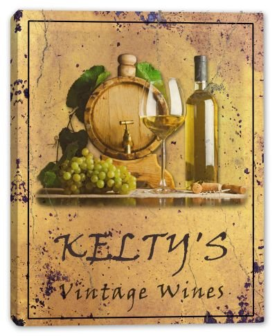 keltys-family-name-vintage-wines-canvas-print-24-x-30