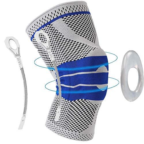 CCHKFEI Knee Brace Compression Sleeve Stabilizer