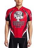 CANARI Cyclewear Men's Arrogant Bastard Jersey (Red, X-Large)
