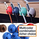 3M Cable Clips Organizer Adhesive, Colorful Cord