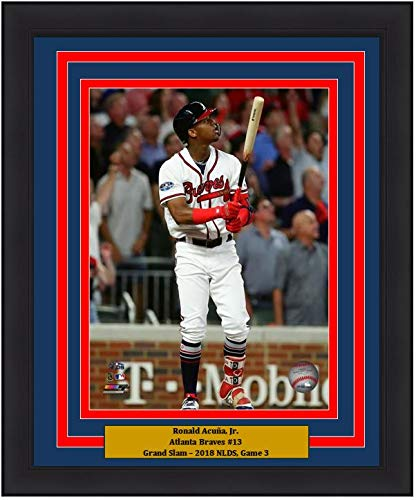 - Braves Ronald Acuna Jr. 2018 NLDS Grand Slam 8