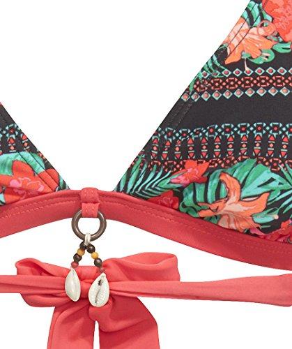 Protest–Bikini parte superior, orange/bunt, 40 / B orange/bunt