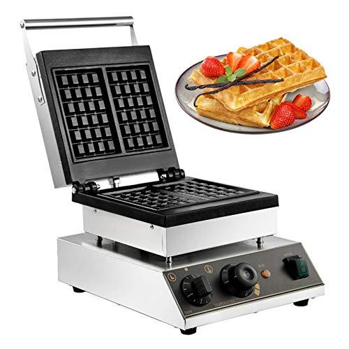 VBENLEM Commercial Round Waffle Maker 4pcs Nonstick Electric Waffle Maker...